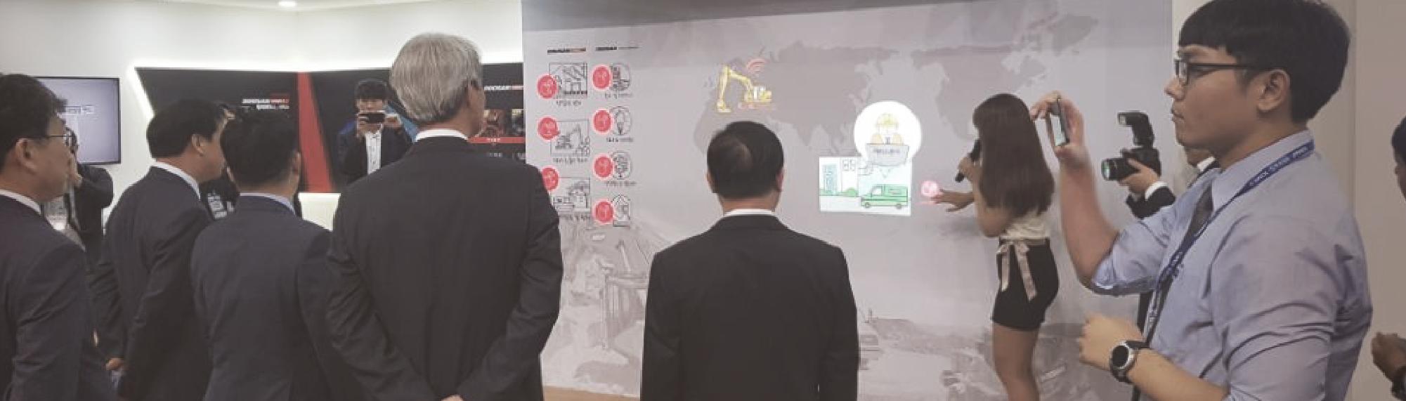 2018 국제 자동화 정밀기기전 (두산중공업)